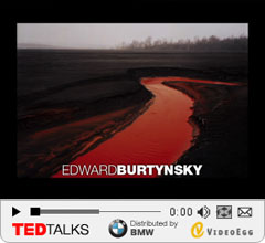 ... a stunning slideshow of his work, which explores human impact on the natural world in eerily beautiful large-scale landscapes.