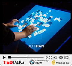 Multi-Touch User Interface - Der Erfinder Jeff Han auf der TED Conference